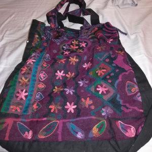 Handbags - Beautiful Embroidered Boho Shoulder Bag
